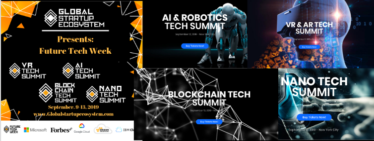 Global Startup Ecosystem Partners with Microsoft for Future Tech Week 2019 w/ 1000 Attendees